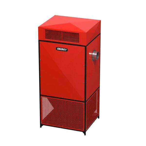 کوره هوای گرم گازی (فن آکسیال) GF 1560 AX