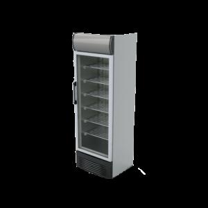 یخچال ویترینی مدل ZFS1-350HPPT ایستاده وان پلاستیک زاگرس