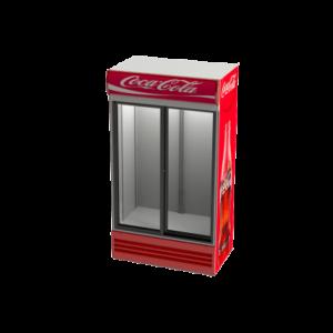 یخچال ویترینی مدل ZRS2-1000S دو درب لولایی عرض 120 زاگرس